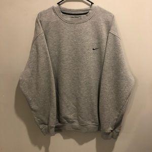 Nike Crewneck sweatshirt gray classic style vtg